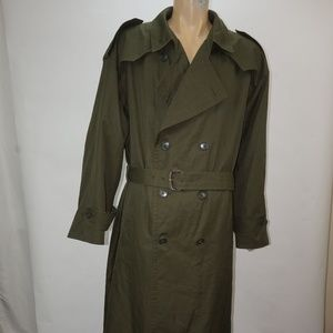 MENS CHRISTIAN DIOR MONSIEUR BELTED TRENCH COAT